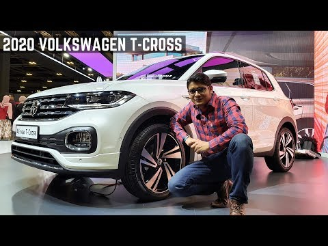 2020 Volkswagen T-Cross LUXURIOUS SUV India Full Detailed Review - Latest Features, Premium Interior