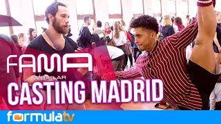 Los secretos del primer casting de 'Fama a bailar' (#0) en Madrid