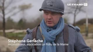 Verdun : ils reconstituent la guerre de tranchées (Making Of)