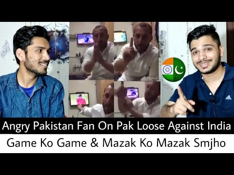 Indian Reaction On Angry Pakistani Cricket Fan On Asia Cup PAKISTAN vs INDIA | M Bros.