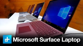 Microsoft Surface Laptop – Hands On