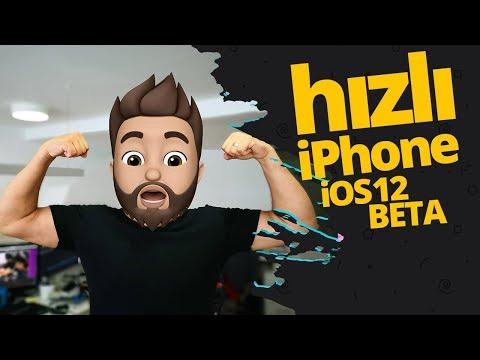 iOS 12 Beta kurduk! iPhone çoştu! - iOS 12 Beta ön inceleme!