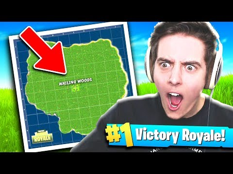 ONLY WAILING WOODS!! - Fortnite: Battle Royale