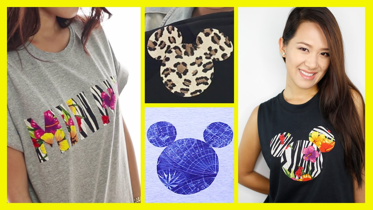 Diy a mickey mouse inspired t shirt an anneorshine disney diy a mickey mouse inspired t shirt an anneorshine disney exclusive youtube solutioingenieria Image collections