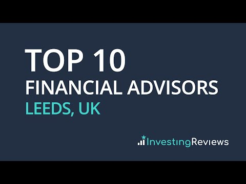 Top 10 Financial Advisors Leeds