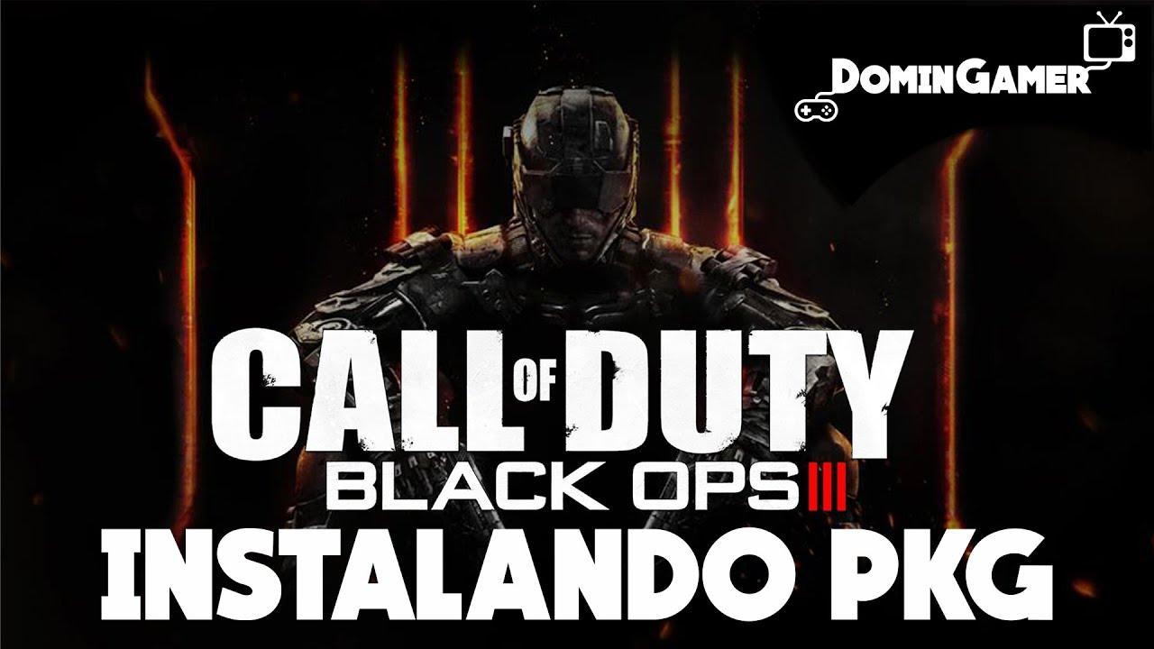 Download Instalando Call of Duty Black Ops 3 (PKG)