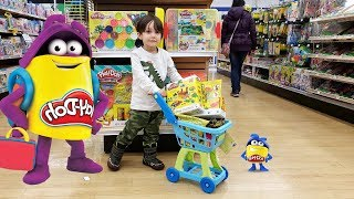 Shopping for Play Doh!