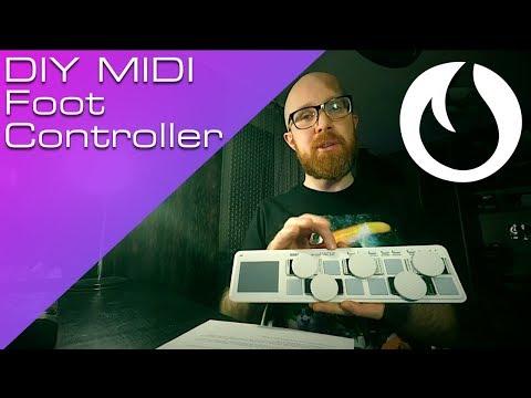 DIY Midi Foot Controller + RC202 Controller Setup