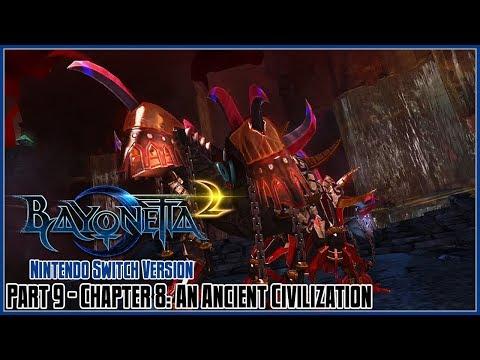 Bayonetta 2 Switch Part 9 - Chapter 8: An Ancient Civilization