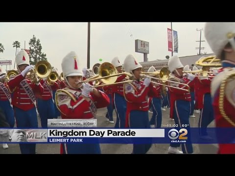 Residents Celebrate Martin Luther King, Jr. Day At 31st Annual Kingdom Day Parade
