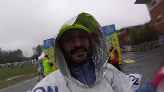 2018 BOSTON MARATHON // The COLD, WET & WINDY edition // My first BOSTON MARATHON