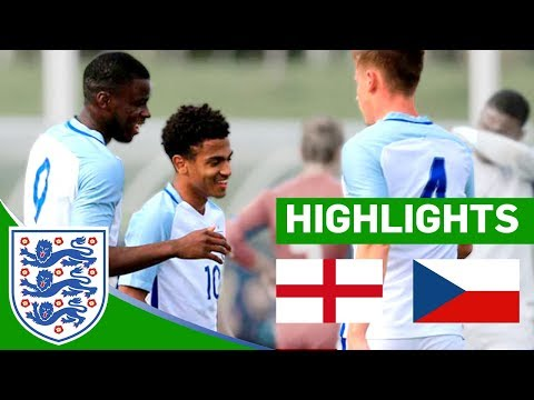 Huge 4-0 WIN For England | England U20 v Czech Republic | Highlights