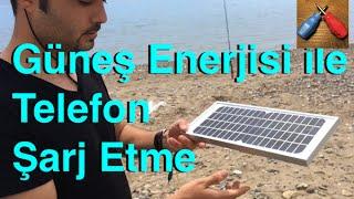 Güneş Enerjisi ile Telefon Şarj Etme , Güneş Enerjili Telefon Şarj Aleti