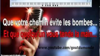 KARAOKÉ : Je Vous Souhaite Tout LeBonheur Du Monde (Sensemilia)