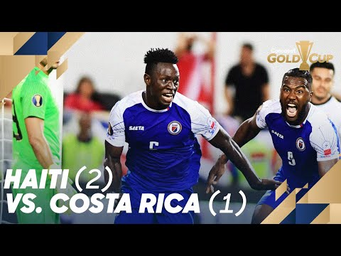 Haiti (2) vs. Costa Rica (1) - Gold Cup 2019