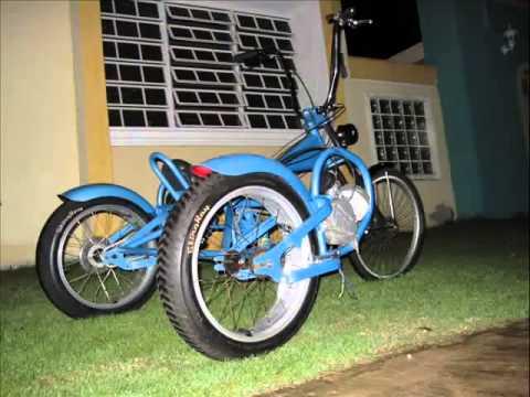 kumpulan modifikasi motor roda tiga