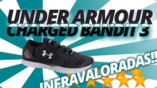 Under Armour Charged Bandit 3 review: ¿la más infravalorada?