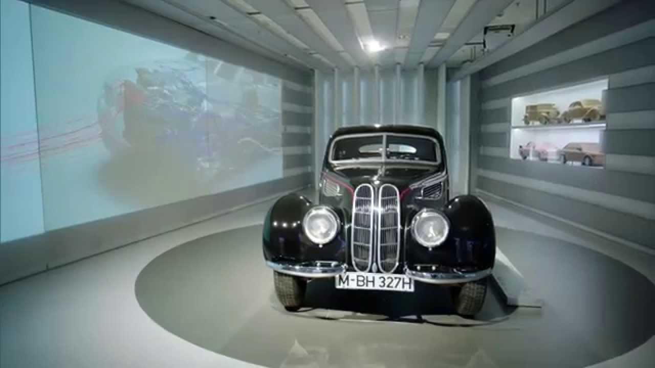 A Night at the BMW Museum - lightweight frame BMW 328 (1939) and BMW ...