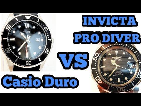 Invicta Pro Diver VS Casio Marlín Duro!!!   Cual Es Mejor?