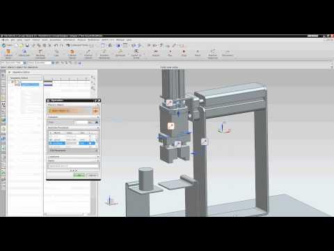 MecLab Simulation in Mechatronics Concept Designer