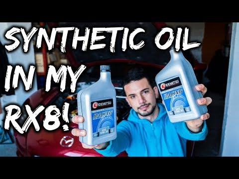 Putting Synthetic Racing Oil In My Mazda Rx8 | VLOG 003