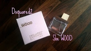 RECENZE: Dsquared2 She Wood