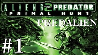 Alien vs Predator 2: Primal Hunt (Predalien) Playthrough/Walkthrough part 1 [No commentary]