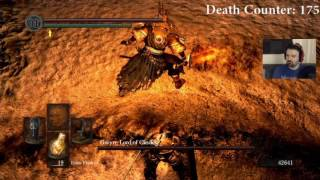Dark Souls: The Redemption Run pt91 - This is IT! Battle of Two Tanks (Gywn Boss, Final!)