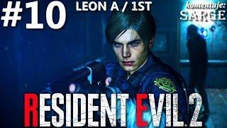 Zagrajmy w Resident Evil 2 Remake PL | Leon A | odc. 10 - Kanały | Hardcore