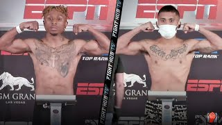 JOSHUA GREER JR VS. MIKE PLANIA - FULL WEIGH IN & FACE OFF VIDEO