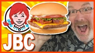 Wendy's Best Snack Choice ♥ JBC ♥ Jr. Bacon Cheeseburger | KBDProductionstv