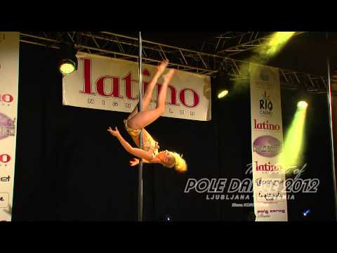 The Art of Pole Dance Slovenia 2012: Elena Koroteeva (official video)