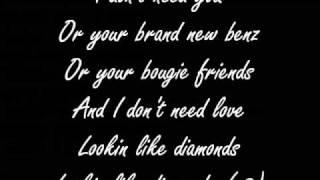 kesha - get sleazy lyrics on screen
