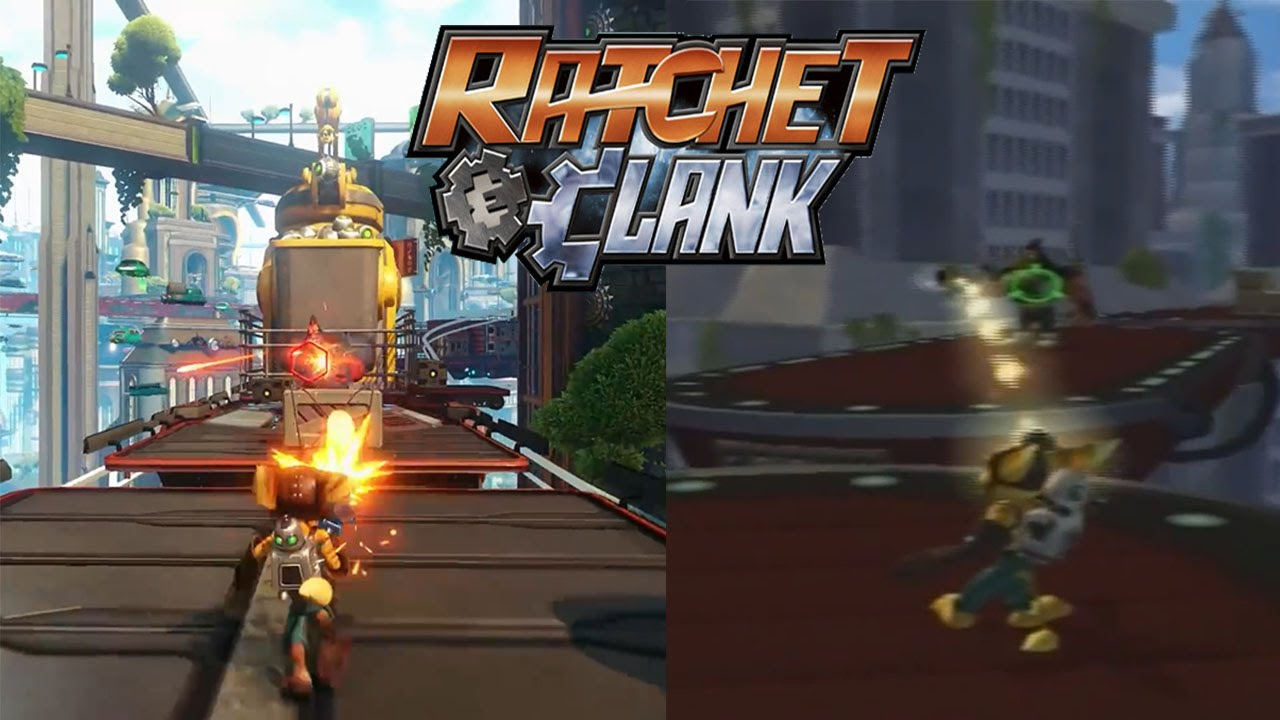Ratchet Amp Clank Ps4 Vs Ps2 Graphics Comparison Youtube