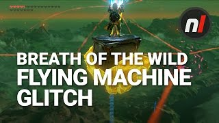 How to Fly Forever in Zelda: Breath of the Wild | Breath of the Wild Flying Machine Glitch