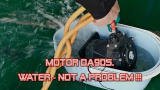 Motor DA90S Water not a problem!!!