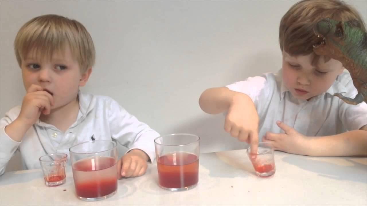 Kallt och varmt vatten - bNosy Enkla Experiment för Barn 1