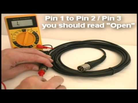 How to Test a Microphone Cable, Easy Audio Technical Information