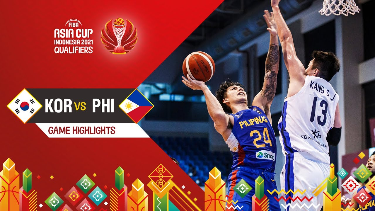 Download Korea - Philippines | Highlights - FIBA Asia Cup 2021 Qualifiers
