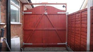 DIY Double Gate at Dad's Woodyard Part 1 / The Carpenter's Daughter