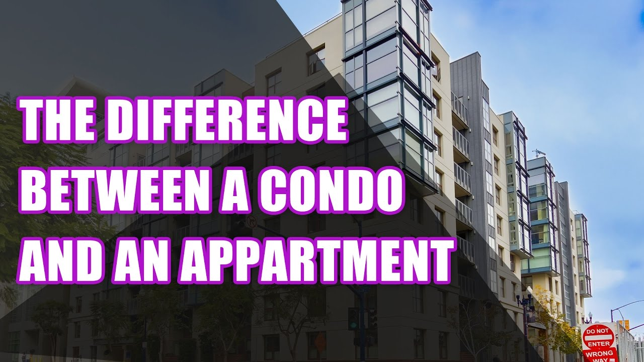 the difference between a condo and an apartment renting. Black Bedroom Furniture Sets. Home Design Ideas