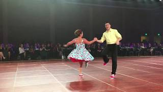 DWOS All stars 2018 Anna and Michael Swing Dance