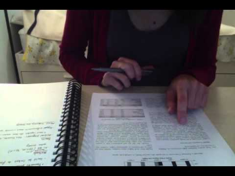 Study With Me ASMR- Reading an Academic Article for Sleep