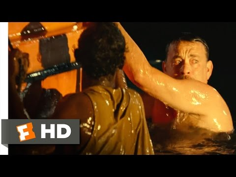 Captain Phillips (2013) - Two in the Water Scene (9/10) | Movieclips
