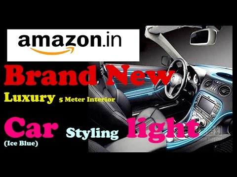 Car dashboard el wire Luxury 5 Meter Interior Car Styling light (Ice ...