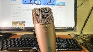 Распаковка и тест нового студийного микрофона - SAMSON C01U PRO с aliexpress