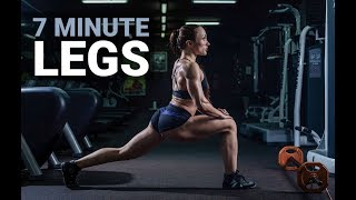 7 Minute Leg Workout (SLIM AND BUILD LEGS!!)