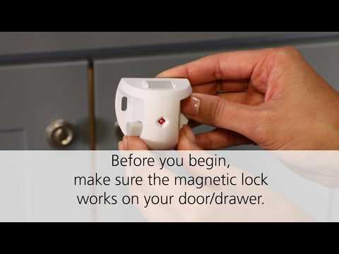 Adhesive Magnetic Lock System Installation Guide