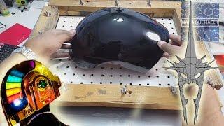 Cubre tu mascara con resina y aprende a hacer el visor del casco de Guy Manuel |NQUEH
