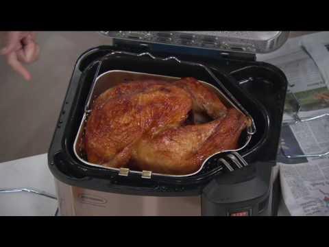 Butterball XXL Premium Digital Electric Indoor Turkey Fryer on QVC